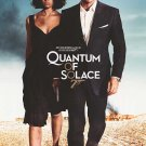 Quantum Of Solace Blue Original Movie Poster  Single Sided 27 X40