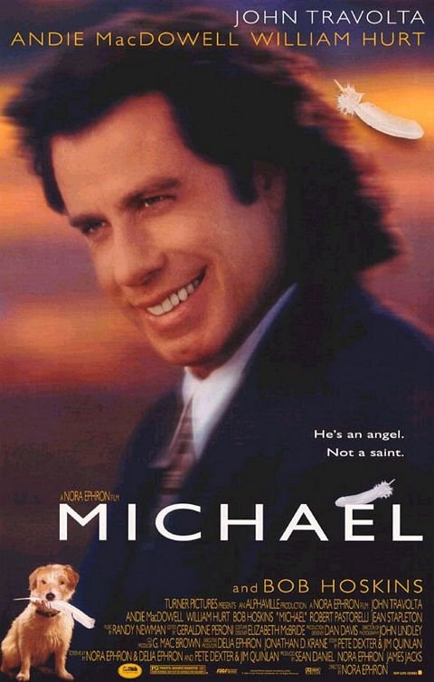 Michael Original Movie Poster Double Sided 27 X40