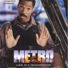 Metro Original  Movie Poster 27X40 Double Sided