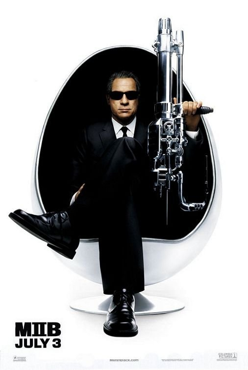 Men In Black II (T. Jones) Original  Movie Poster 27X40 Single Sided