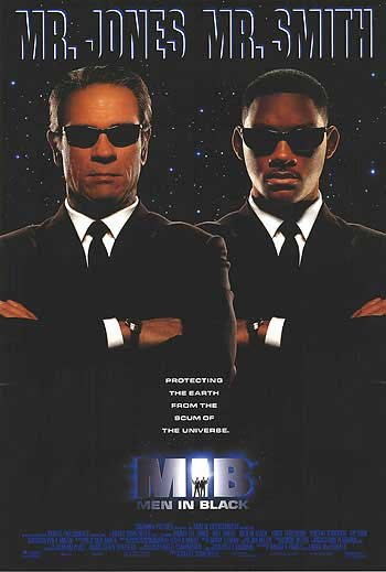 Men In Black  Advance B Original  Movie Poster 27X40 Double Sided