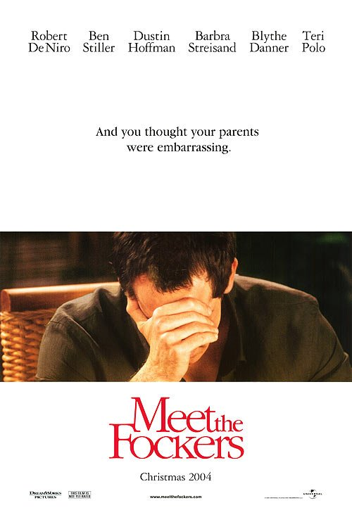 Meet The Fockers Advance Original Movie Poster Double Sided 27 X40