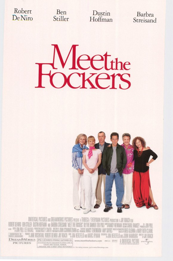 Meet The Fockers Regular Original Movie Poster Double Sided 27 X40