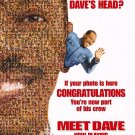 Meet Dave Intl Original Movie Poster Single Sided 27 X40