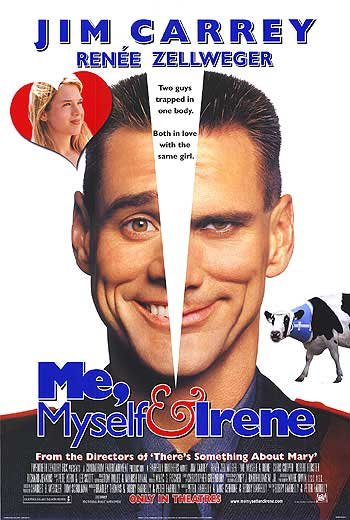 Me, Myself & Irene Original Movie Poster Double Sided 27 X40