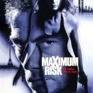 Maximum Risk Original Movie Poster Double Sided 27 X40