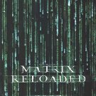 Matrix Reloaded Advance Original Movie Poster Double Sided 27 X40