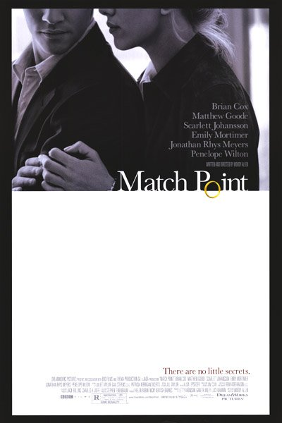 Match Point Original Movie Poster Double Sided 27 X40