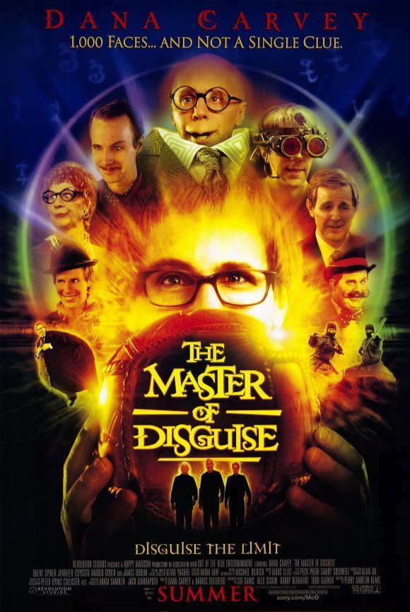 Master of Disguise Original Movie Poster Double Sided 27 X40