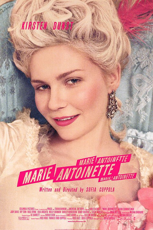 Marie Antoinette  Original Movie Poster Double Sided 27 X40