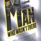 Man Who Wasn't There Original Movie Poster Double Sided 27 X40