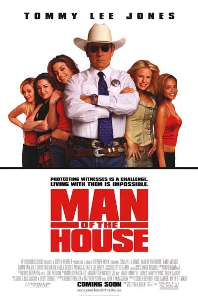 Man Of The House Original Movie Poster Single Sided 27 X40