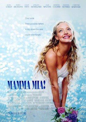 Mamma Mia Regular Original Movie Poster Double Sided 27 X40
