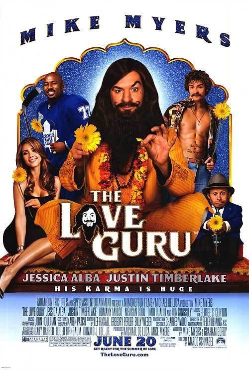 Love Guru Regular Original Movie Poster Double Sided 27 X40