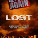 Lost Original Tv Show Poster Movie Poster Double Sided 24x36
