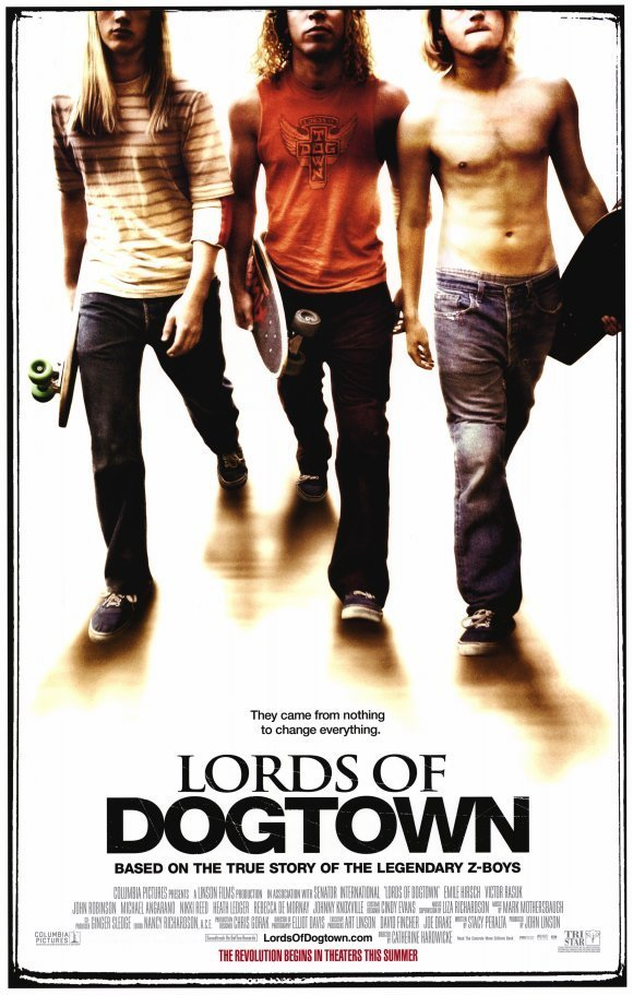 Lords of Dogtown Original Movie Poster Double Sided 27x40