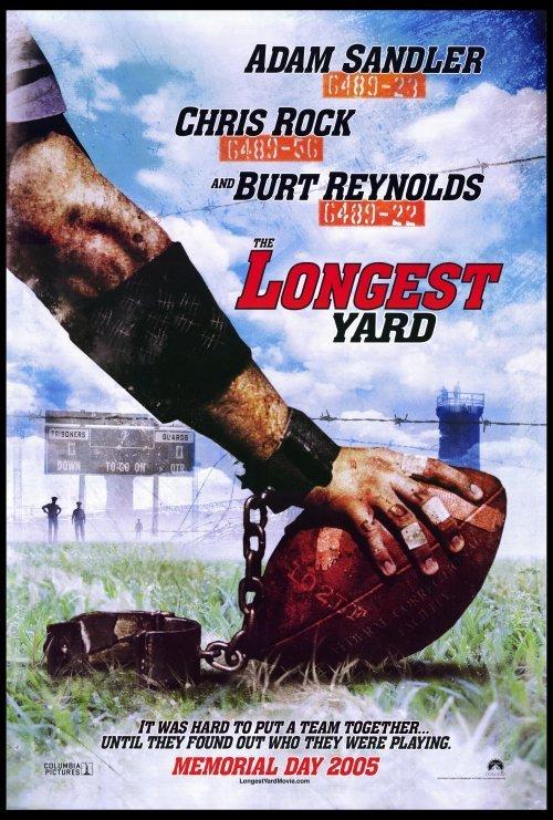 Longest Yard  Advance Original Movie Poster Double Sided 27x40