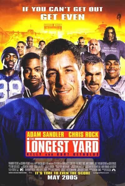 Longest Yard  Regular Original Movie Poster Double Sided 27x40