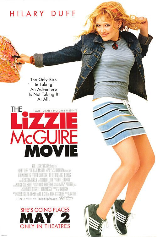 Lizzie McGuire Original Movie Poster Single Sided 27x40