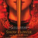 Snow Flower and the Secret Fan Original Movie Poster Double Sided 27 X40