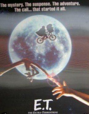 E.T. 20Th Anniversary 3-D LENTICULAR Movie Poster 27X40