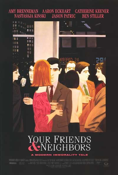 Your Friends and Neighbors Original Movie Poster 27X40 Single Sided