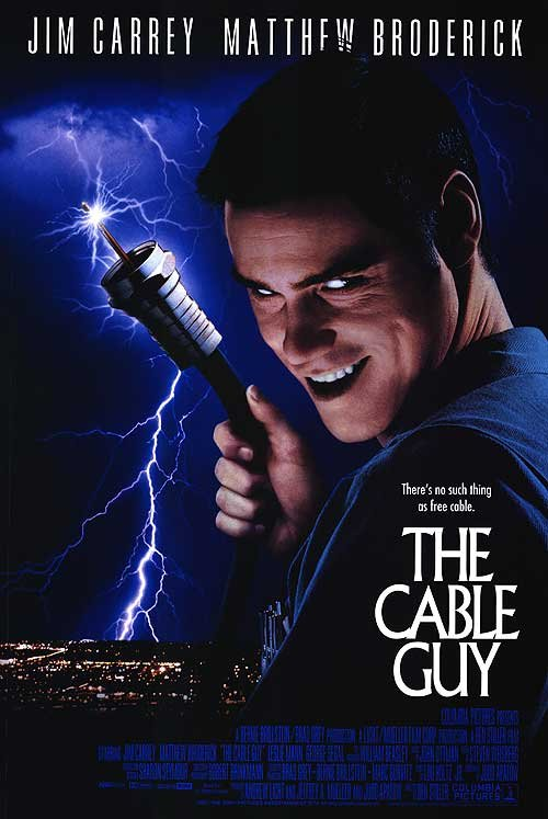 Cable Guy Original Movie Poster  Double Sided 27 X40