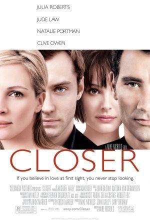 Closer Single Sided Original Movie Poster 27x40