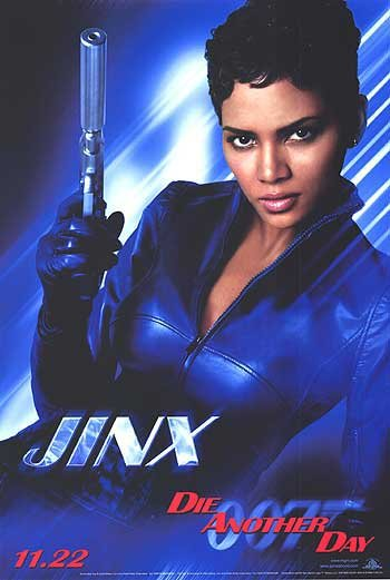 Die Another Day (H. Berry Jinx) Original Movie Poster Single Sided 27 X40