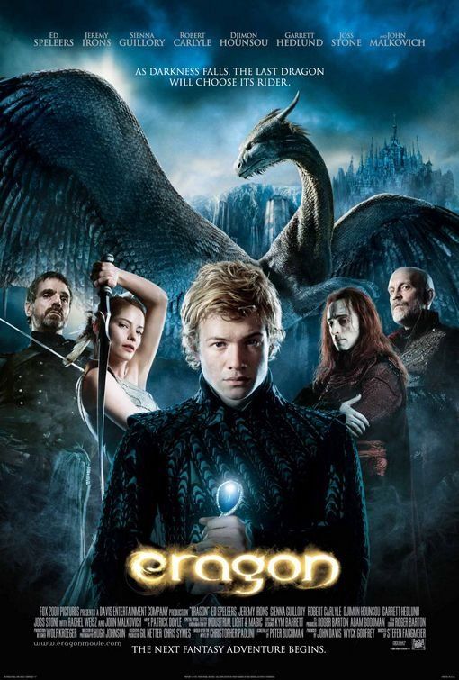 Eragon Single Sided Original Movie Poster 27x40