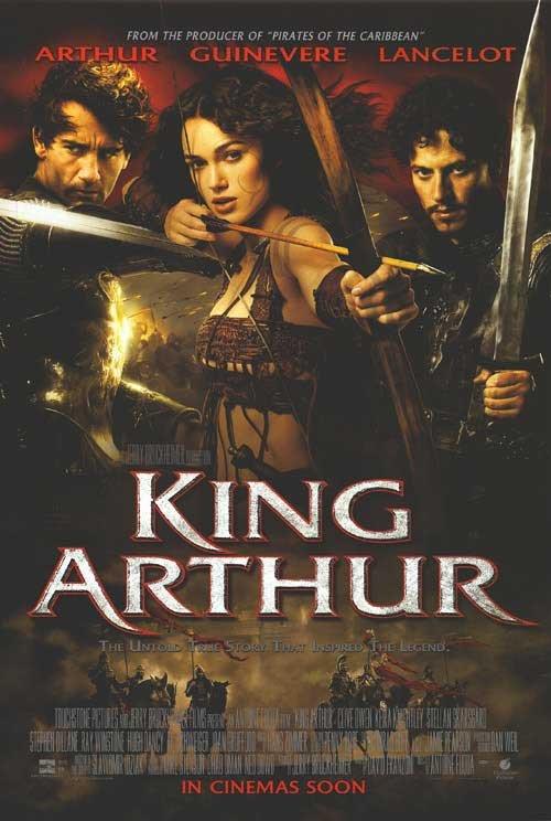 King Arthur Regular Double Sided Original Movie Poster 27x40