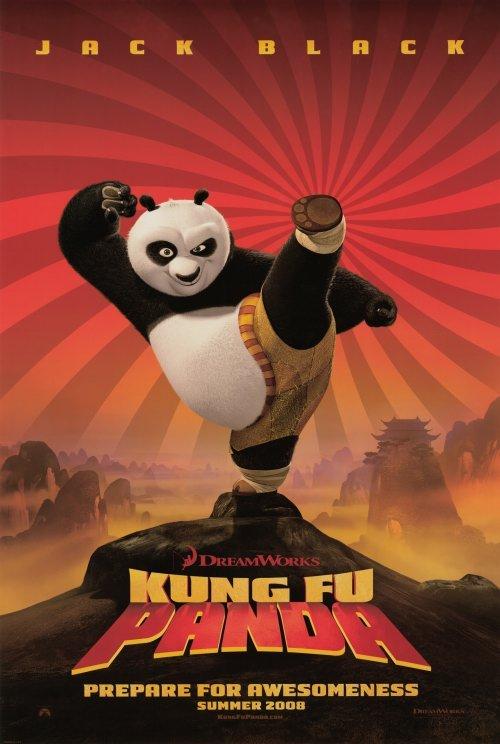Kung Fu Panda  Movie Original Movie Poster Double Sided 27 X40