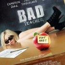 Bad Teacher Advance Original Movie Poster Double Sided 27 X40