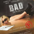Bad Teacher Regular Original Movie Poster Double Sided 27 X40