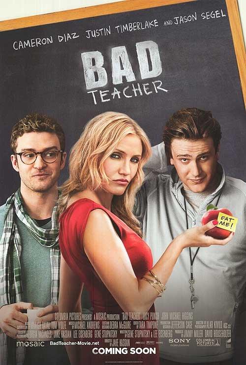 Bad Teacher Intl Original Movie Poster Double Sided 27 X40