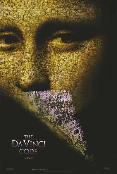 Da Vinci Code Advance Original Movie Poster Double Sided 27x40