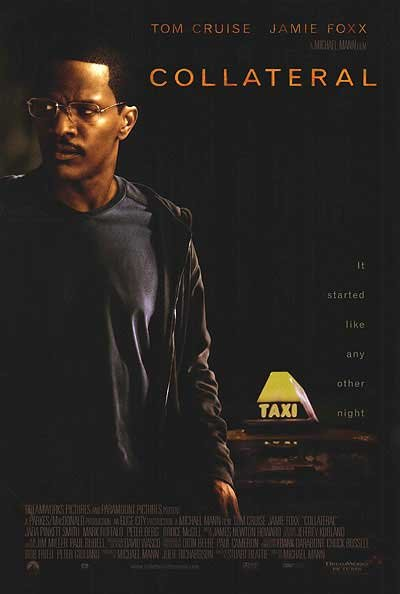 Collateral (Jamie Foxx) Original Movie Poster Single Sided 27x40