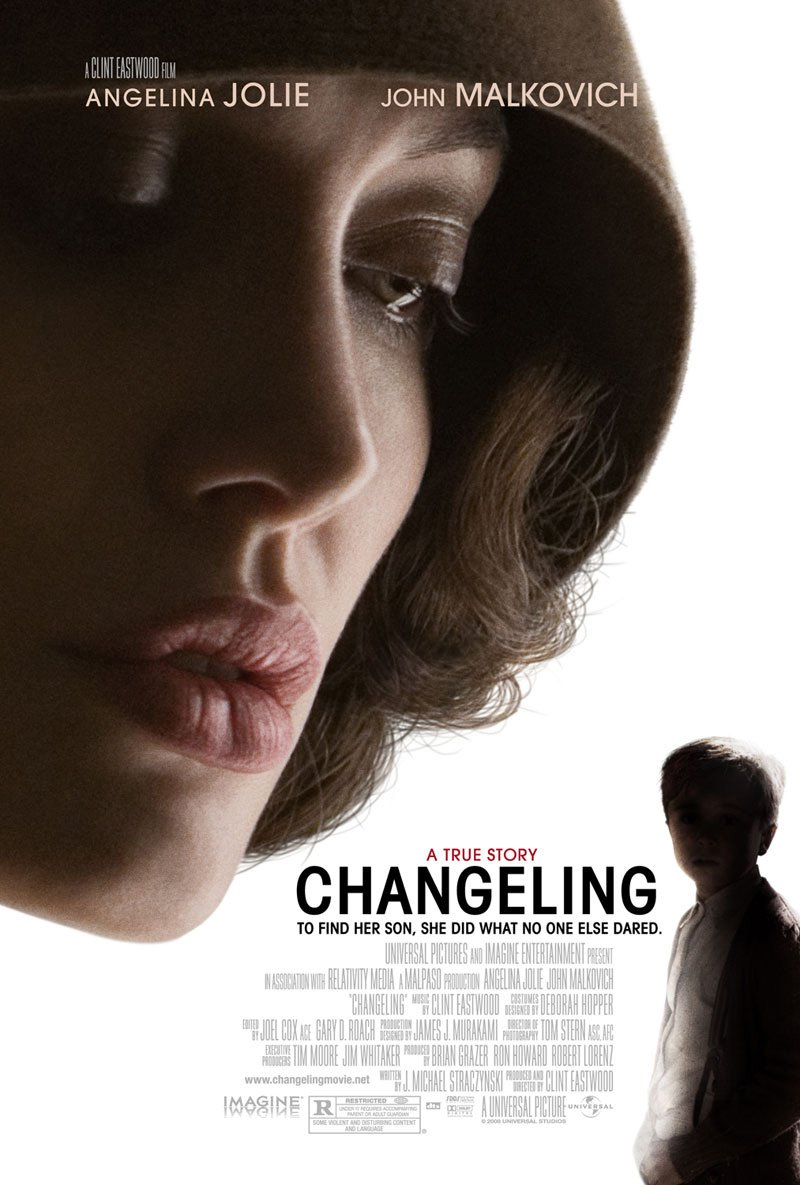 Changeling Original Movie Poster Double Sided 27x40