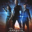 Cowboys & Aliens International Original Theatrical Movie Poster  Double Sided 27 X40