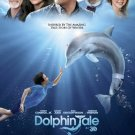 Dolphin Tale Double Original Movie Poster Double Sided 27 X40