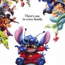 Lilo & Stitch  (Red ) Original Movie Poster Double Sided 27x40