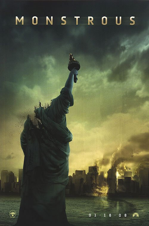 Cloverfield Advance Original Movie Poster Single Sided 27x40