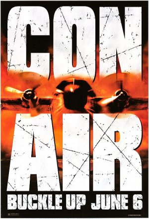 Con Air Original Movie Poster Single Sided 27x40