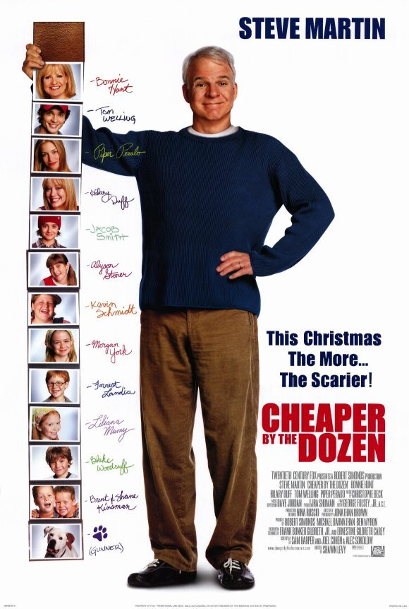 Cheaper by the Dozen Original Movie Poster Double Sided 27x40