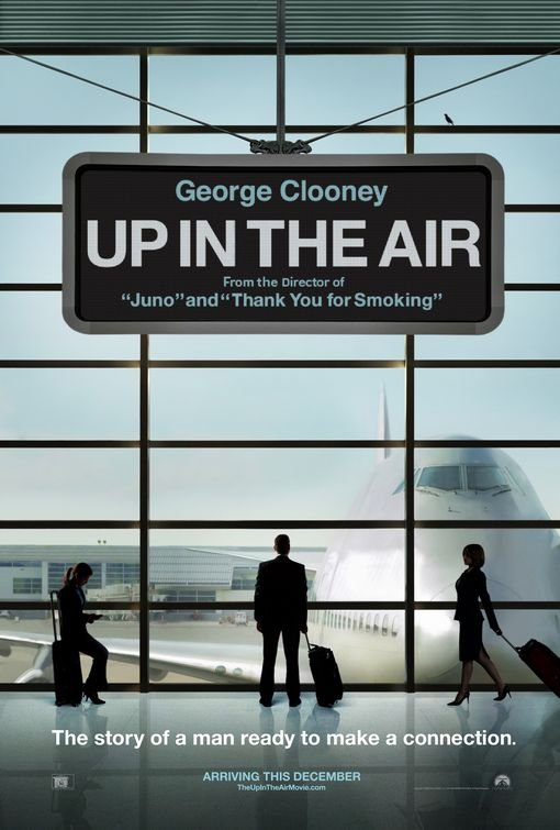 Up In The Air Original Movie Poster Double Sided 27x40