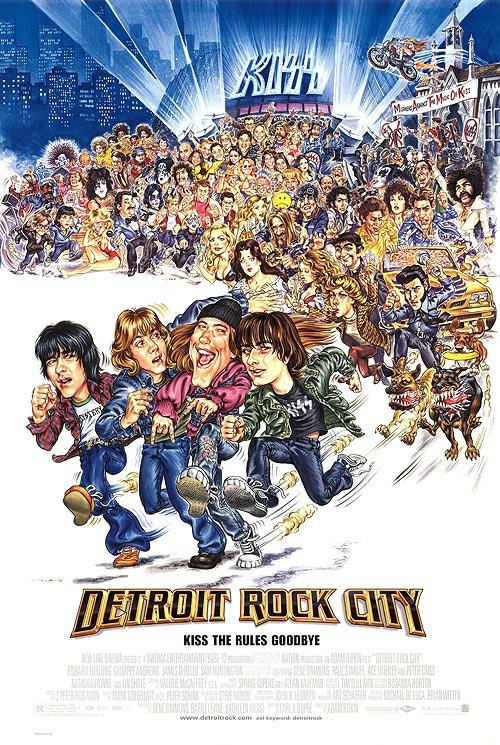 Detroit Rock City Regular Original Movie Poster Single Sided 27x40