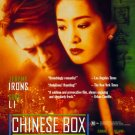 Chinese Box  Original Movie Poster Double Sided 27 X40