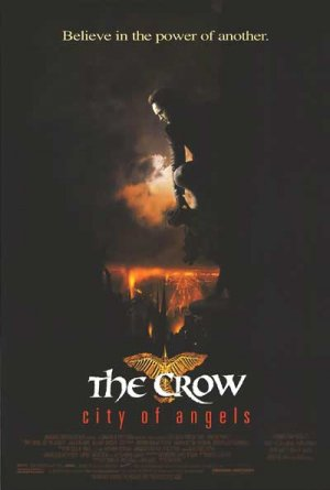 Crow : City Of Angels Original Movie Poster Single Sided 27x40