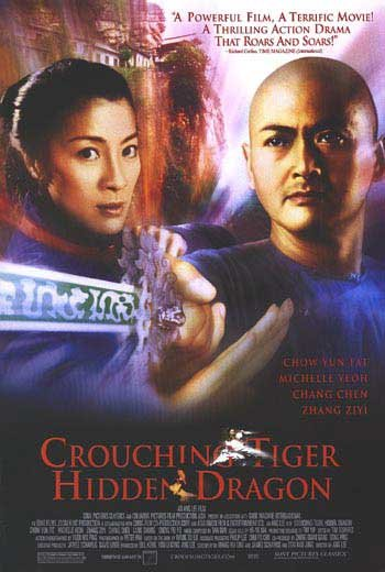 Crouching Tiger Hidden Dragon  Original Movie Poster Double Sided 27 X40
