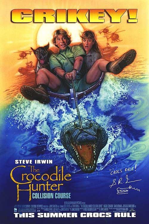 Crocodile Hunter Original Movie Poster Single Sided 27 X40